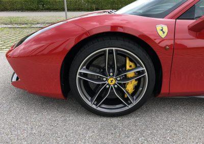 Ferrari 488 GTB Seite